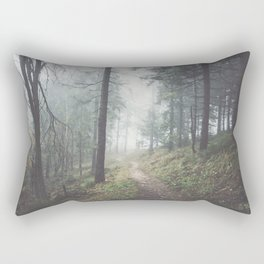 Into the unknown - Landscape and Nature Photography Rectangular Pillow