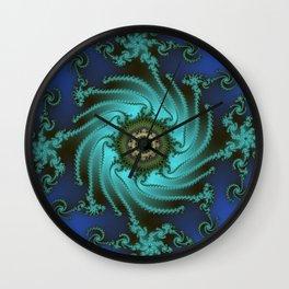 Fractal Abstract 66 Wall Clock
