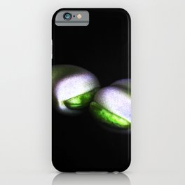Two Broad Beans iPhone Case