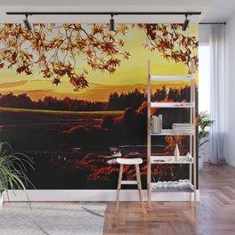 idyllic nature landscape vayr Wall Mural