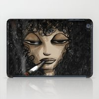 women iPad Cases featuring Women  by Eyad Shtaiwe