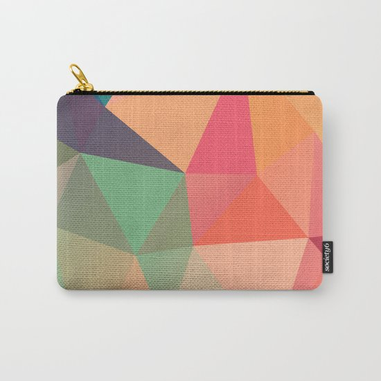 Geometric XV Carry-All Pouch
