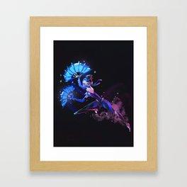 Princess Kitana Framed Art Print