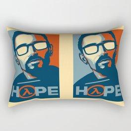 Half Life Hope Rectangular Pillow