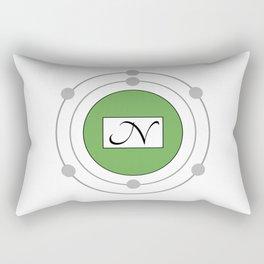 Nitrogen - Bohr Model Rectangular Pillow