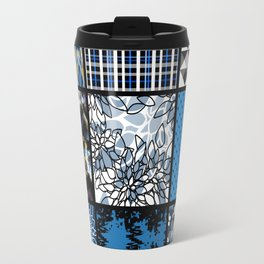 Favorite blanket and pillows . Patchwork 2 Travel Mug