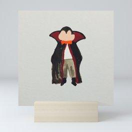 Trick or Treat Halloween Toddler Vampire Dracula Mini Art Print