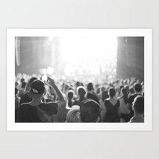 Fun Concert Art Print