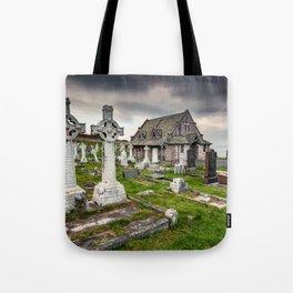 Saint Tudno Llandudno Tote Bag