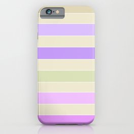 Leela 1 . Pastel iPhone Case