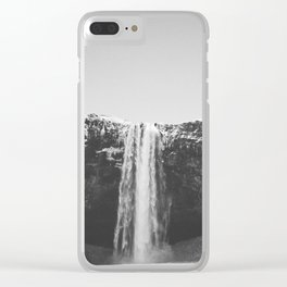 WATERFALL II / Seljalandsfoss, Iceland Clear iPhone Case