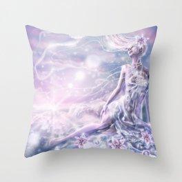 Sparkling Dream Queen Throw Pillow