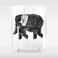 Phingerfant Shower Curtain