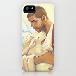 just hold on, we're going home iPhone Case