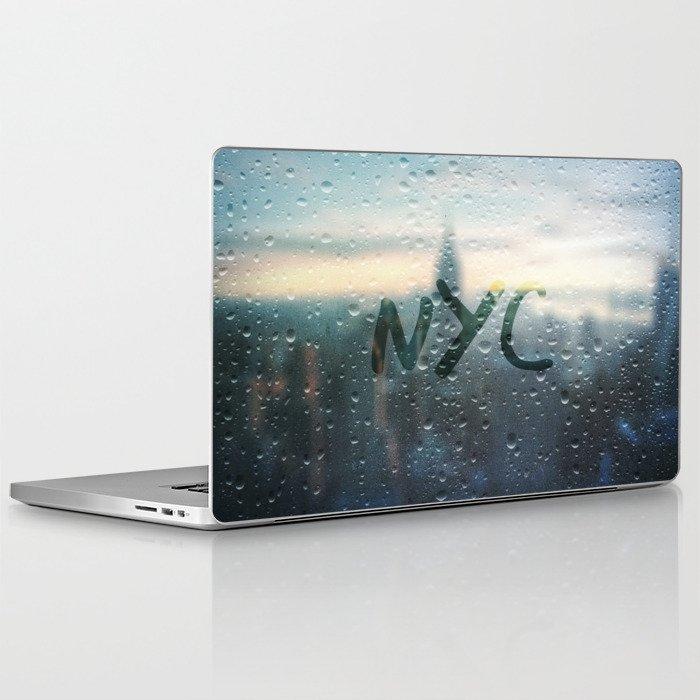 Rainy Day in NYC Laptop & iPad Skin by Christine aka stine1