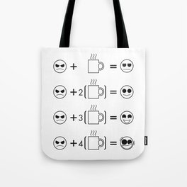 The Caffeine Hypothesis  Tote Bag