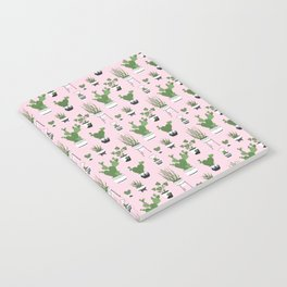 Cactus Love (in pink) Notebook