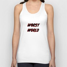 World Issues Unisex Tank Top