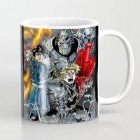 fullmetal Mugs featuring Fullmetal Alchemist by MarioRojas