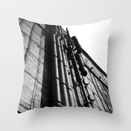 Silo #5 Throw Pillow