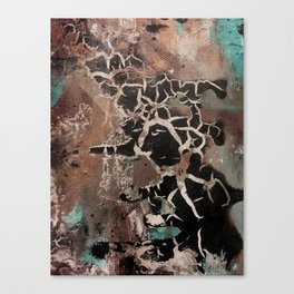 Bruised Not Broken Canvas Print