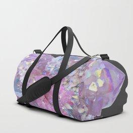 ROSE & PURPLE QUARTZ CRYSTALS MINERAL SPECIMEN Duffle Bag