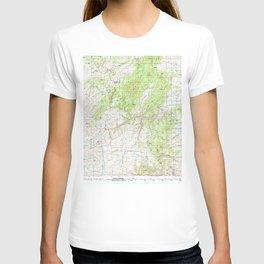 WY Laramie Peak 342349 1981 topographic map T-shirt