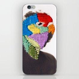 Parrot Head iPhone Skin