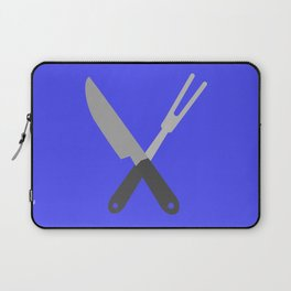 knife and fork Laptop Sleeve