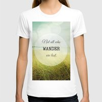wander T-shirts featuring Wander by Olivia Joy St.Claire - Modern Nature / T