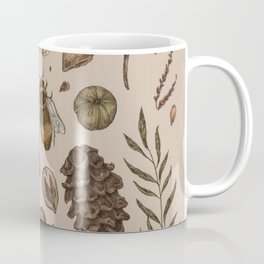 Nature Walks (Light Background) Coffee Mug