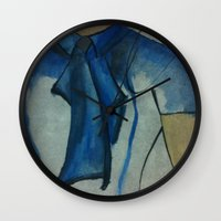 vogue Wall Clocks featuring Vogue by Taylor Starnes