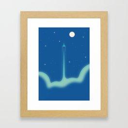 Rocket #1 Framed Art Print