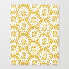 Bee Charmer Canvas Print