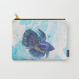 Japanese Fighting Fish Carry-All Pouch