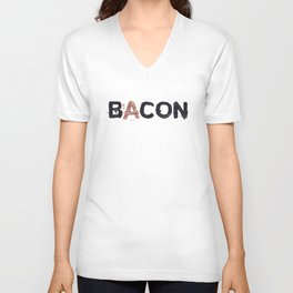 Favourite Things - Bacon Unisex V-Neck