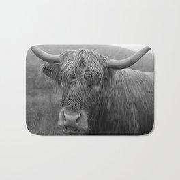 Highland cow I Bath Mat
