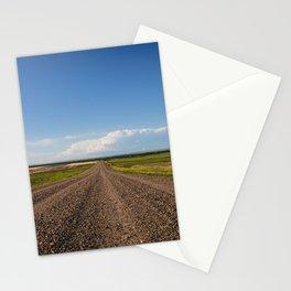 Summer Roads, Glasgow, Montana 2 Stationery Cards
