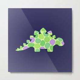 Stuart the stegosaurus Metal Print