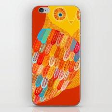 Terracotta Owl iPhone & iPod Skin