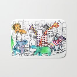 Urban Jungle Bath Mat