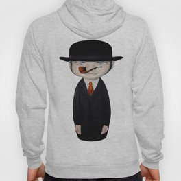 omaggio a Magritte Hoody