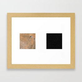 Geographies #4 Framed Art Print