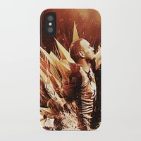 wesley bird iPhone & iPod Cases featuring Wesley Sneijder by Max Hopmans / FootWalls