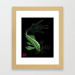 Catfish Robot Framed Art Print