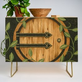 In a hole in the ground Credenza
