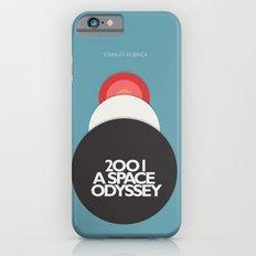 2001 a Space Odyssey - Stanley Kubrick ,Movie Poster, minimal version, vintage, retro Slim Case iPhone 6