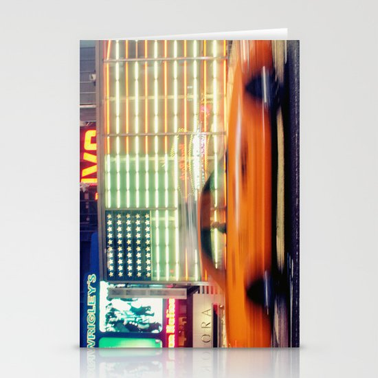 NYC Taxi Stationery Cards