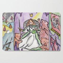 Woman King Cutting Board