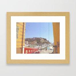 La Brasserie Framed Art Print